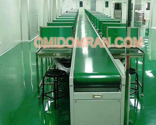 خط تولید قطعات برقی