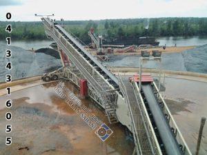 استاکر کانوایر معادن با طول 38 متر