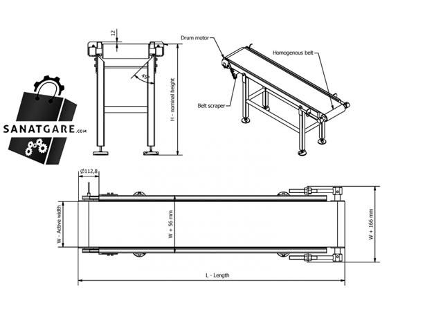 Schematic conveyor