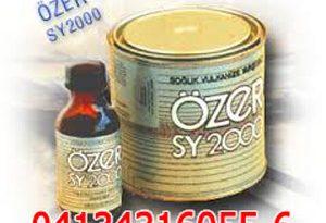 چسب آپارات تسمه نقاله،چسب آپارات لاستیک به لاستیک OZER SY2000
