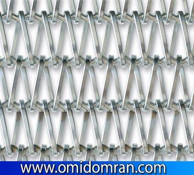 تسمه توری برای صنعت شیشه