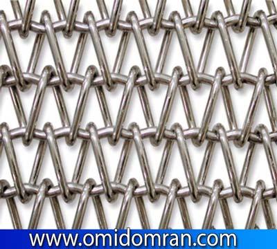 تسمه توری و انواع توری نقاله های فلزی