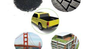 محصولات حاصل از بازیافت لاستیک
