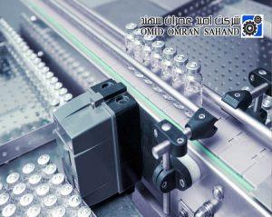 زنجیر تخت پلیمری صنعت داروسازی