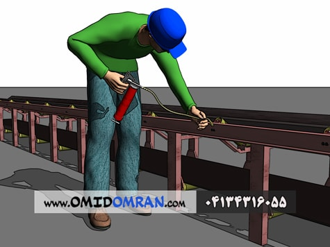 تعمیرات نوار نقاله