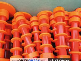 غلطک نوار نقاله پلاستیکی و حلقه های پشتیبانی پلی اورتان