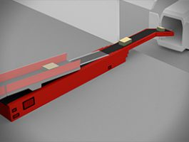 نوار نقاله تلسکوپی بار کننده وسایل نقلیه – بارگیری و تخلیه وسایل نقلیه با یک پهلوگاه