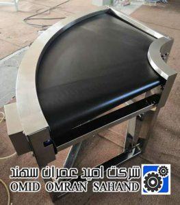 نوار نقاله منحنی (Belt Curve Conveyor)