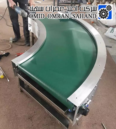 Conveyor 180 and 90 degrees