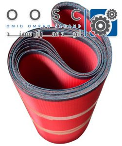 Polyester spiral dryer mesh belt