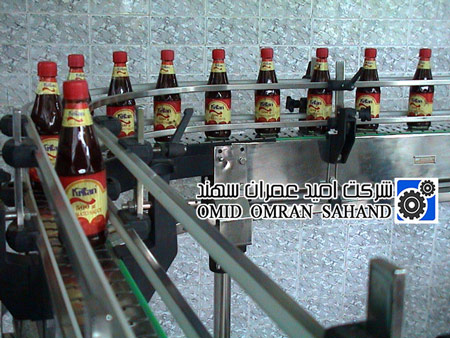 Plastic Slat Conveyor برای کارخانجات تولید نوشیدنی