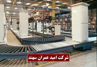 نوار نقاله رولیکی 2 (Roller Conveyors)