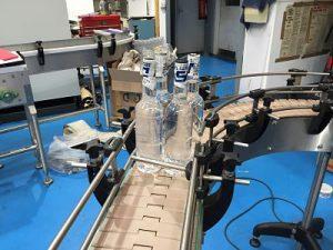 ناقل شريحة بلاستيكية لصناعة المشروبات