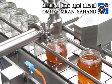 نوار نقاله اسلت استیل برای دستگاه پرکن عسل