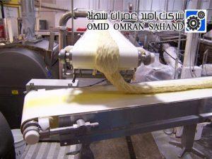 نوار نقاله حمل و انتقال خمیر
