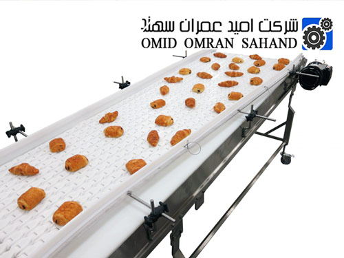 نوار نقاله حمل محصولات غذایی