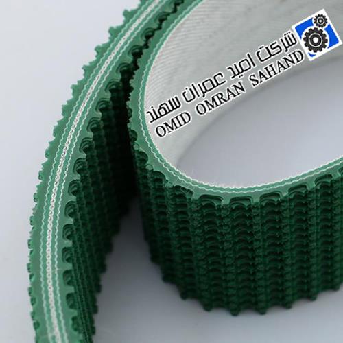 تسمه PVC دو لایه سبز گریپ ضخامت 5 میلی متر مگادین