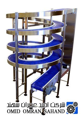 حمل و نقل برتر محصول با Spiral Conveyors