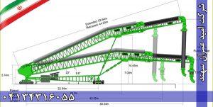 نوار نقاله شیپ لوئدر با طول 50 متر