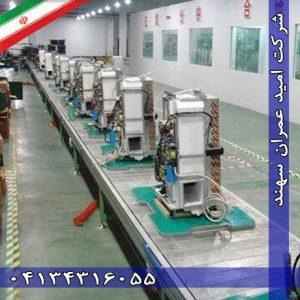 خط تولید و مونتاژ کولر گازی